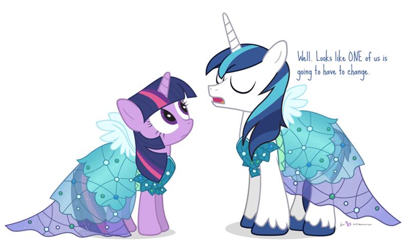 twilight sparkle shining armor princess dress - 8569456384