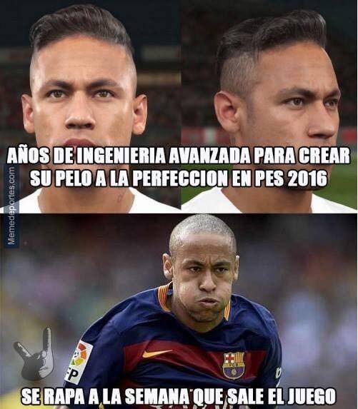 neymar es un loquillo