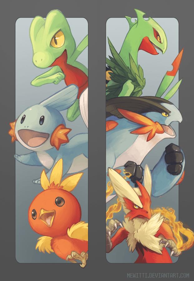 pokemon memes gen 3 starters