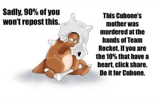 pokemon memes share for cubone