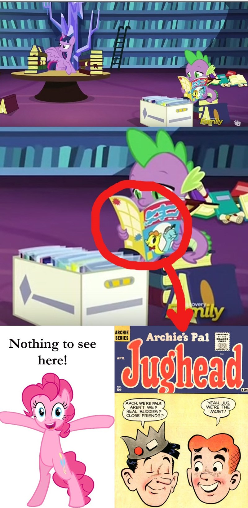 spike,Archie Comics,made in manehattan