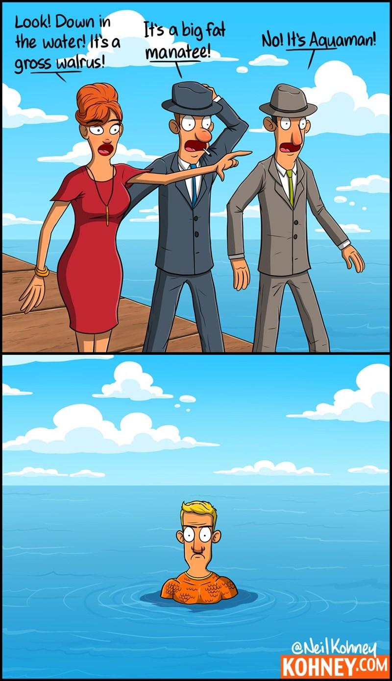 mean,aquaman,superheroes,web comics