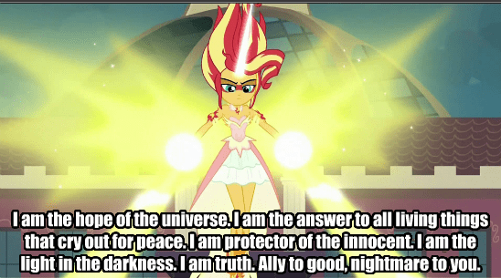 super saiyan sunset shimmer friendship games - 8569850880
