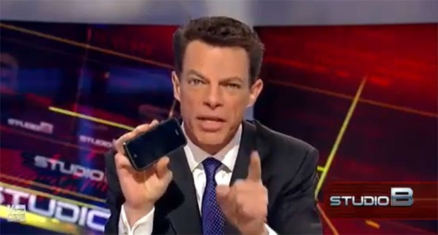 Facebook went down for about an hour and Fox News' Shep Smith couldn't care less.