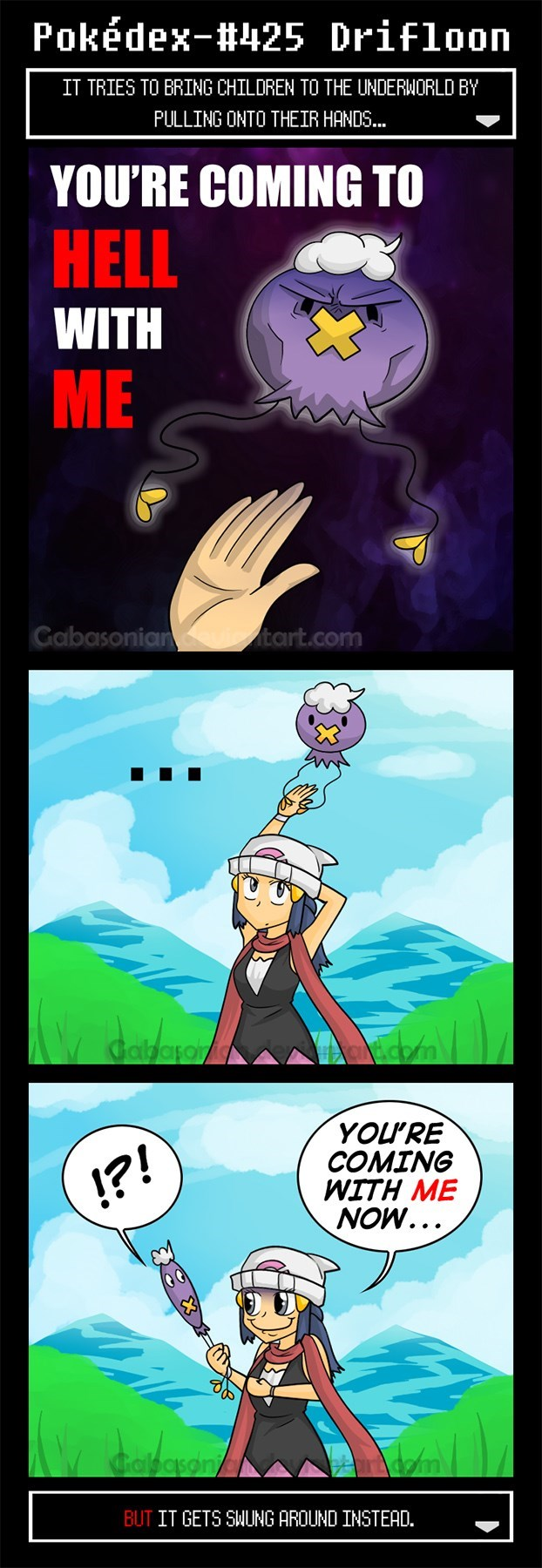 pokemon memes drifloon comic