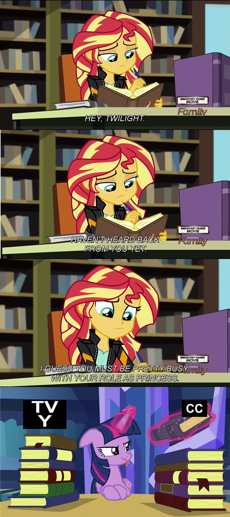 twilight sparkle sunset shimmer friendship games - 8569981184