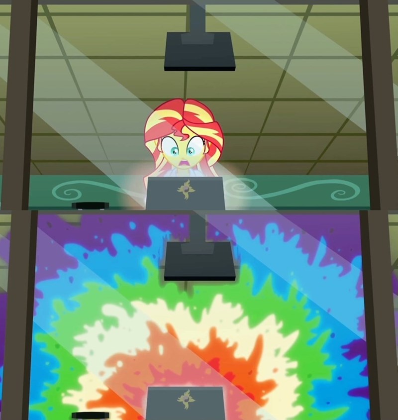 clopping sunset shimmer sploosh - 8570150400