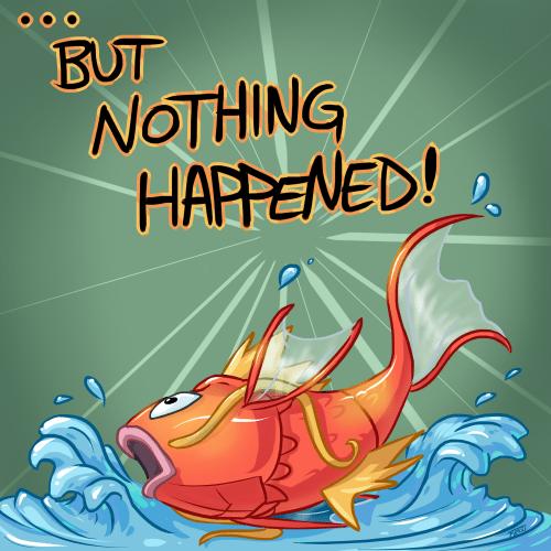 pokemon memes magikarp splash