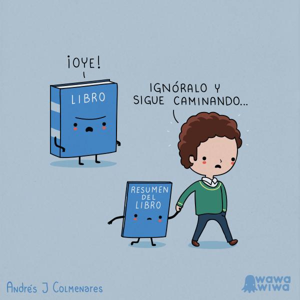 ignora el libro
