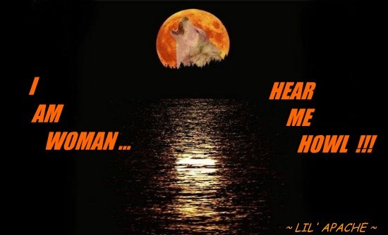 I          AM                               WOMAN ...