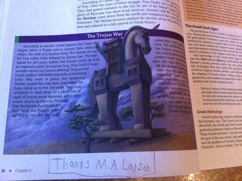 thanks ma larson,alicorn,brony,trojan horse