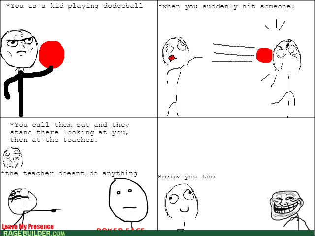 class,dodgeball,teacher,troll