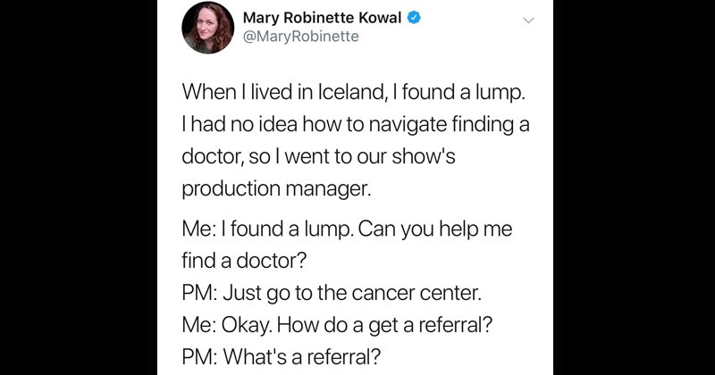 Icelandic healthcare