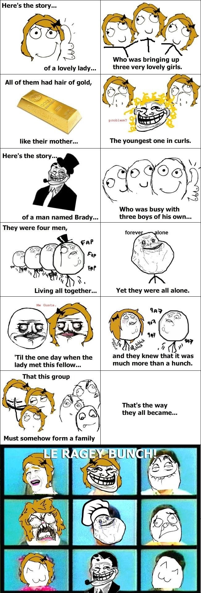 The Brady Bunch,Rage Comics
