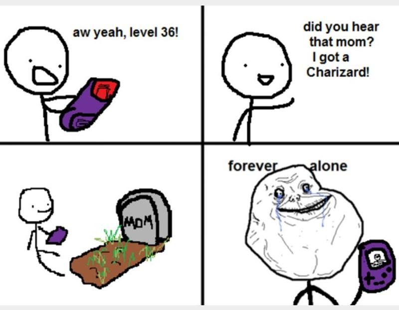 forever alone Pokémon - 8570687488