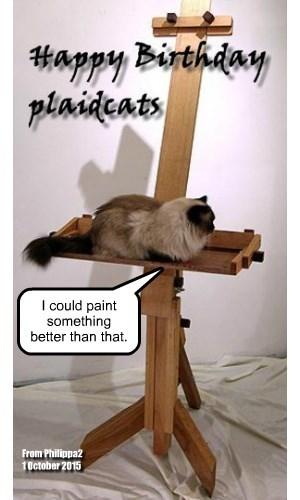 Happy Birthday, plaidcats!