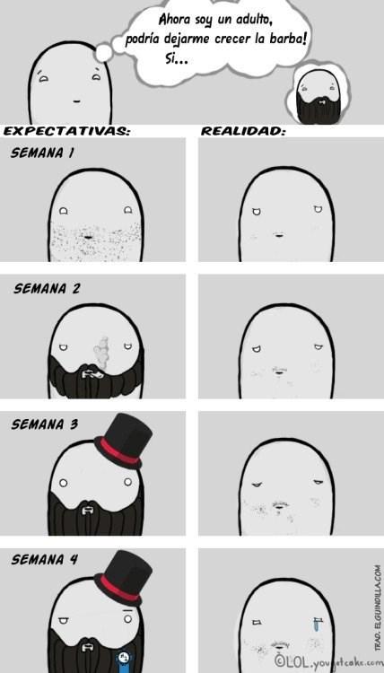 dejandote la barba