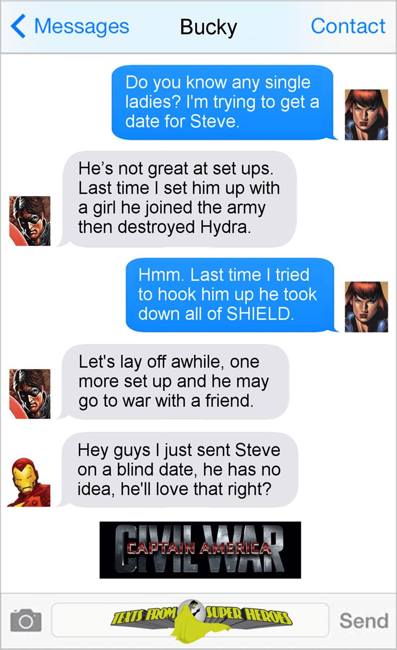 Captain America Dating