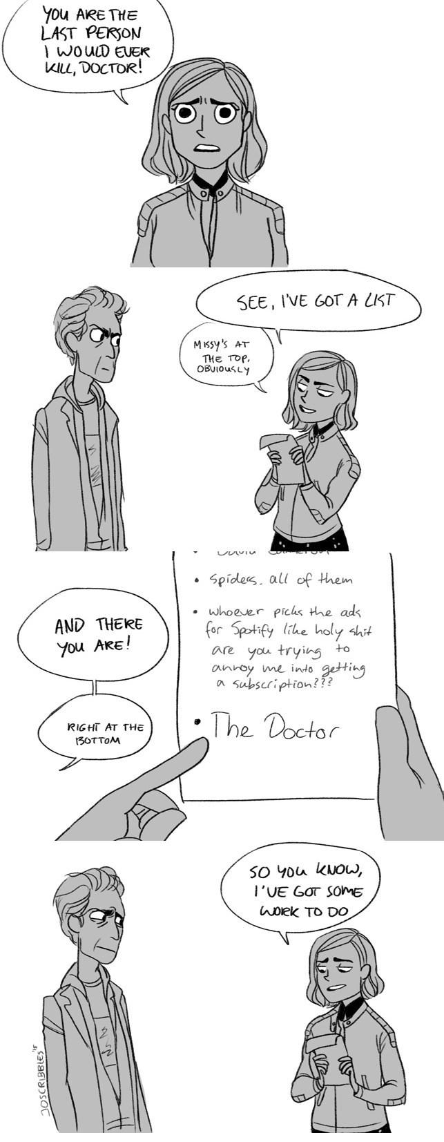 funny-doctor-who-clara-oswald-kill-list-web-comic