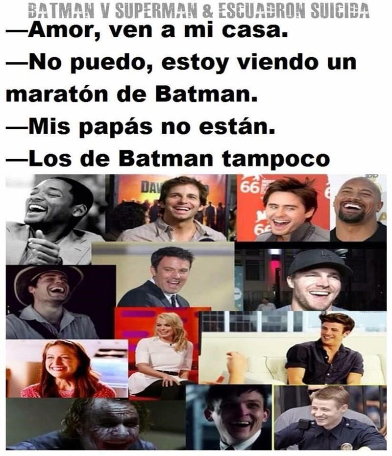 no tienes poder sobre Batman