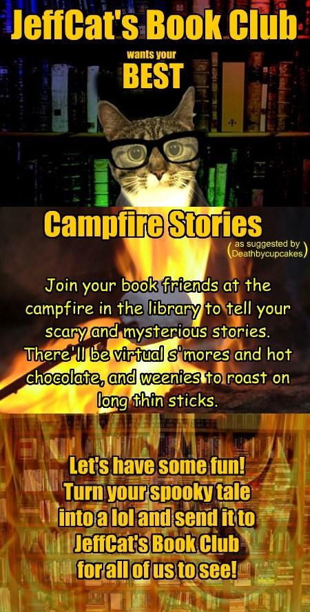 JeffCat's Book Club invites: