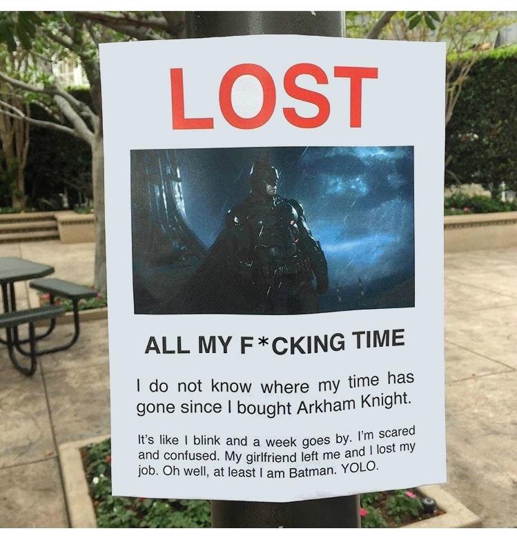 superheroes-batman-dc-arkham-knight-lost-time-meme