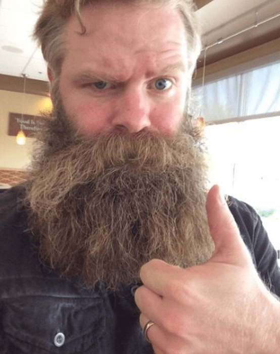 A stranger texting this guy and his beard gets the best responses.