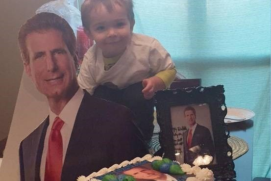 Toddler loves a personal injury lawyer so much he got a birthday party based on the guy.