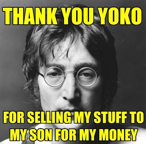 THANK YOU YOKO