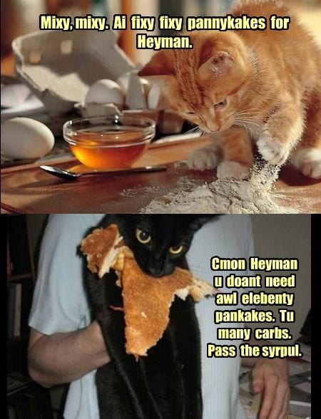 Pancakes for Heyman