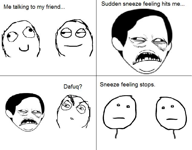 Pre Sneeze Face