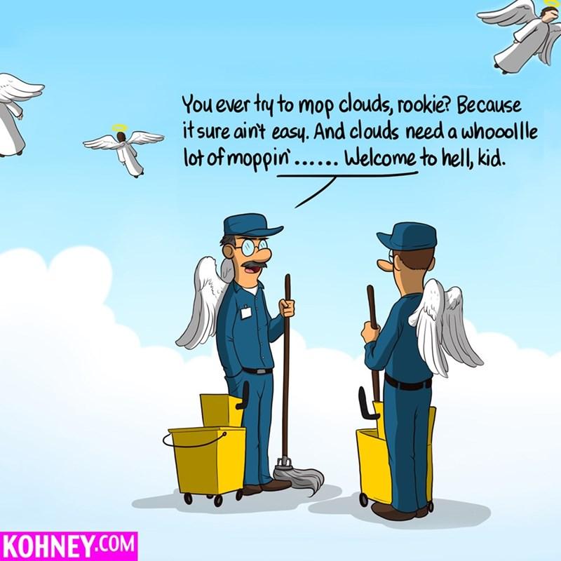 clouds heaven mops web comics - 8571842048