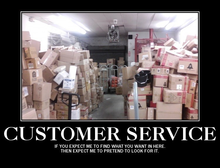 customer service work sucks demotivational - 8571892480