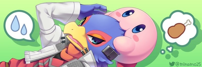 kirby super smash bros falco Fan Art - 8571913472