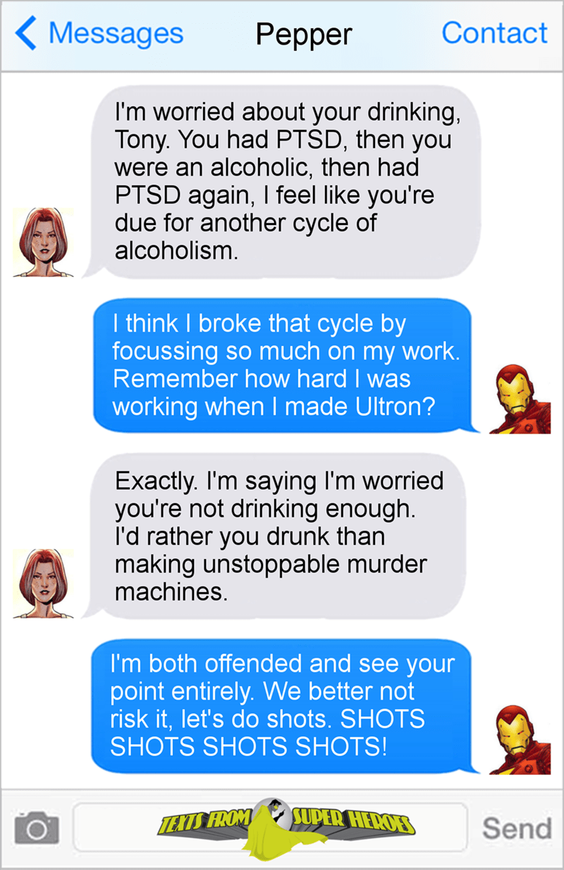 superheroes-iron-man-tony-stark-take-a-drink-for-the-team-marvel-comic