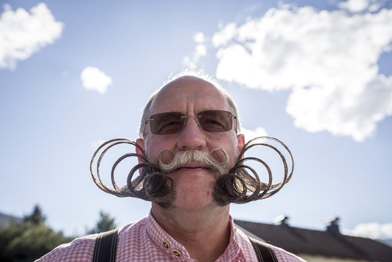 World Beard and Mustache Championships are incredible.