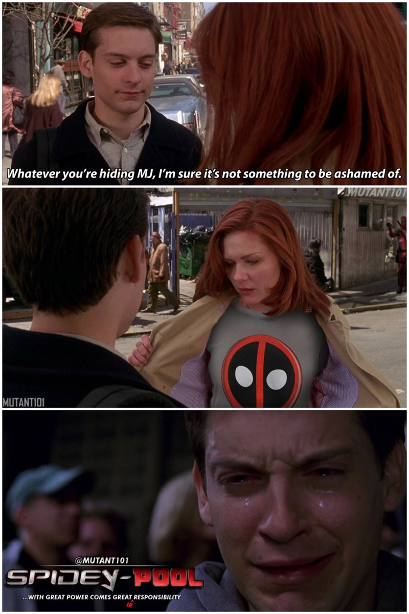 superheroes-spider-man-deadpool-marvel-mary-jane-likes-a-new-hero
