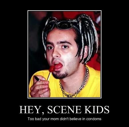 HEY, SCENE KIDS