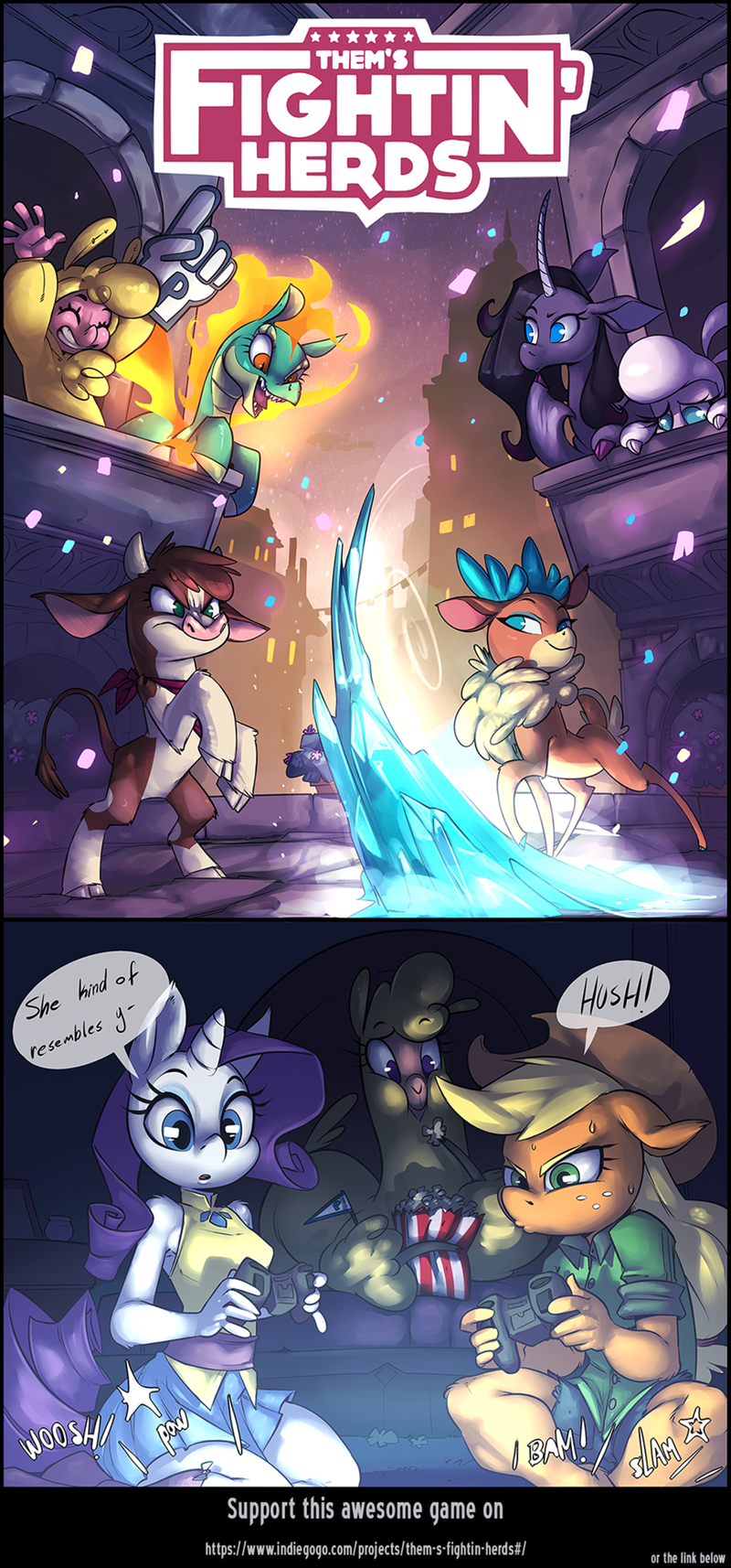my-little-brony-thems-fighting-herds-rarity-applejack-web-comic