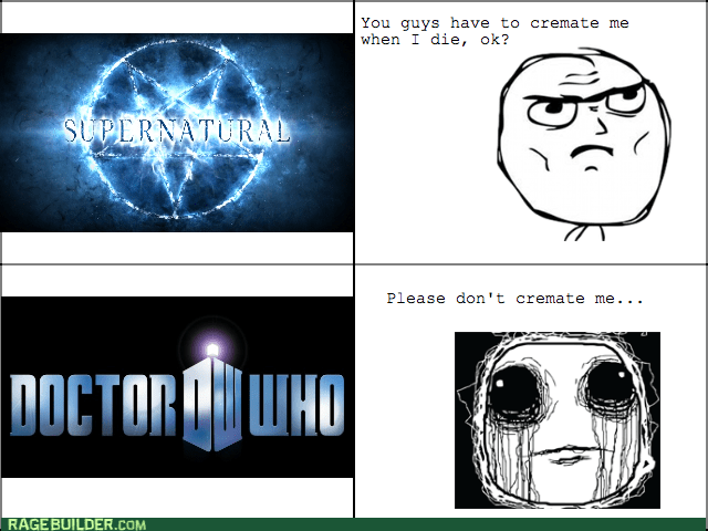 Supernatural,doctor who