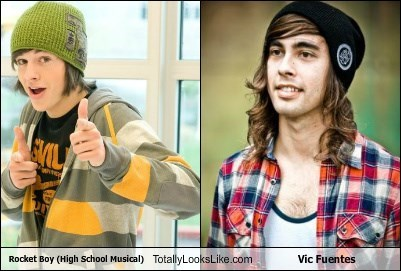 Rocket Boy (High School Musical) Totally Looks Like Vic Fuentes