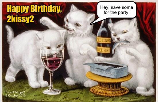 Happy Birthday, 2kissy2!
