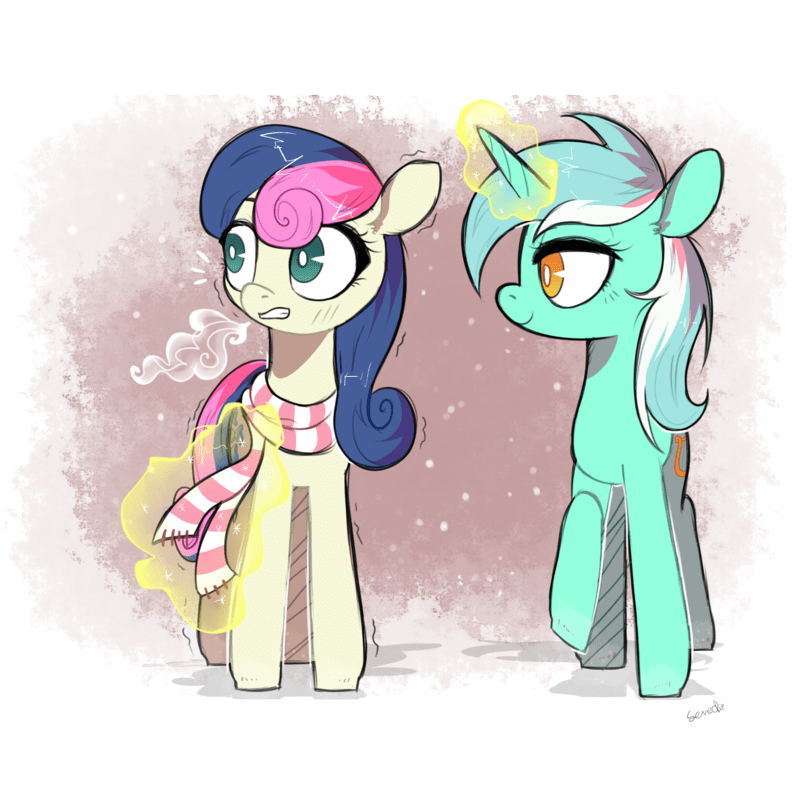 lyra Fan Art bon bon - 8572383232