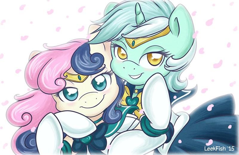 lyra best friends sailor moon ship bon bon - 8572389632
