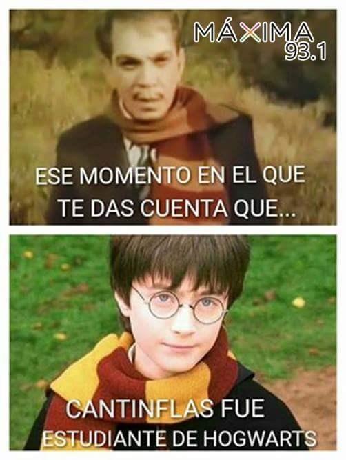 cantinflas en hogwarts