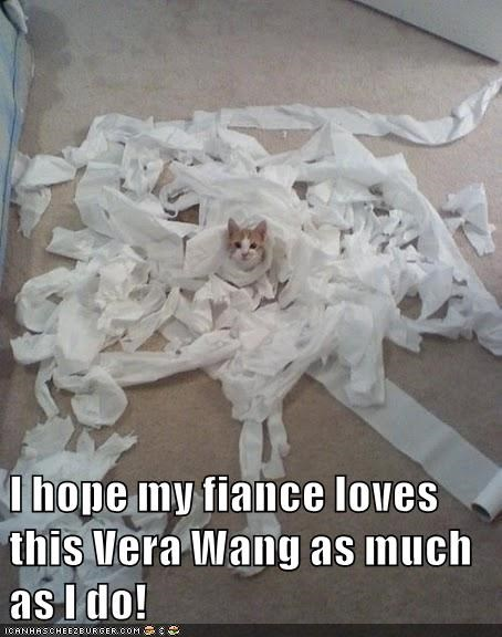 I hope my fiance loves this Vera Wang as much as I do!