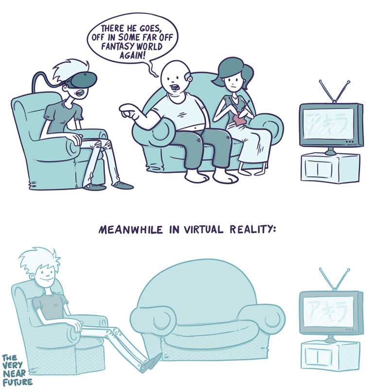 fantasy want virtual reality web comics - 8572537344