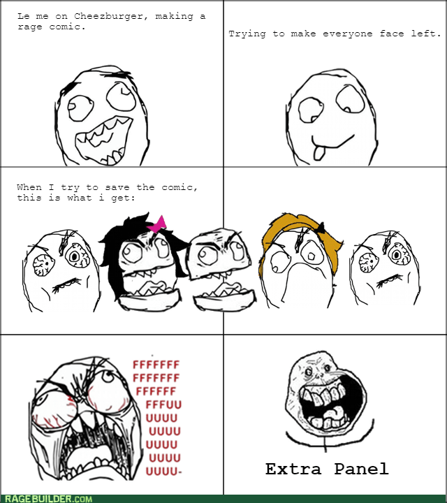 left rage extra panel meta Rage Comics - 8572834048