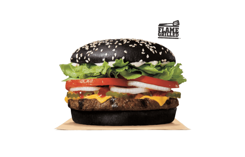 Gizmodo found out why Burger King's black burger turns your poop green.