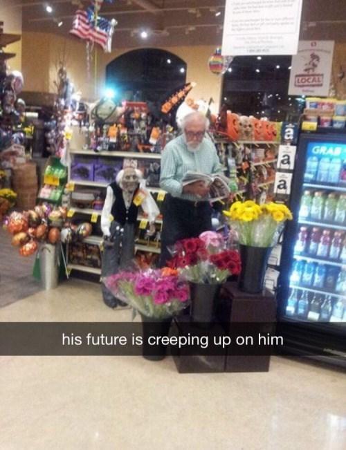 funny memes future creeping up
